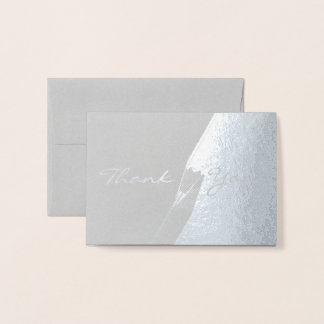 HAMbWG - Silver Foil Card - Thank You