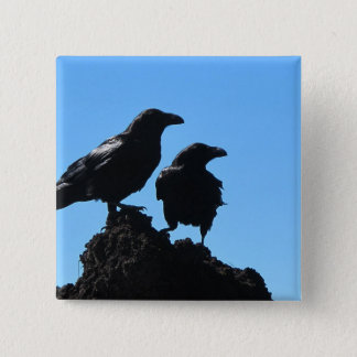 HAMbWG - Square Button - Ravens
