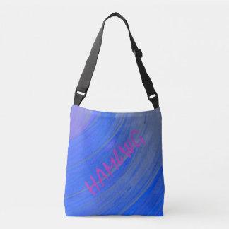 HAMbWG - Tote Bag -  Blue Violet Swirl  HAMbWG