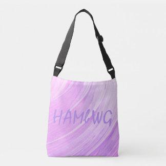 HAMbWG - Tote Bag - Pink Violet w/ HAMbWG