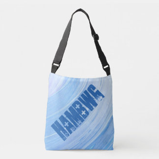 HAMbWG - Tote Bag - Silver Violet Swirl  HAMbWG