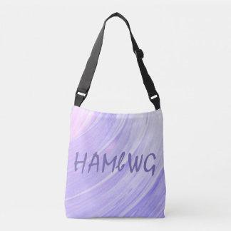 HAMbWG - Tote Bag - Violet Pink Swirl w/ HAMbWG