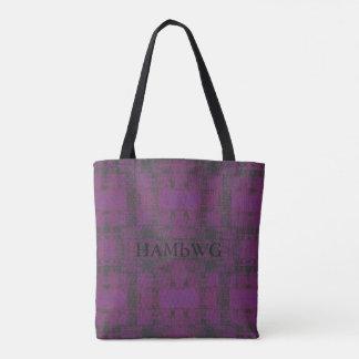 HAMbWG - Tote - Violet/Charcoal