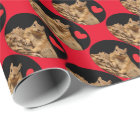 HAMbWG Wrapping Paper - HAMbWG Squirrel heart