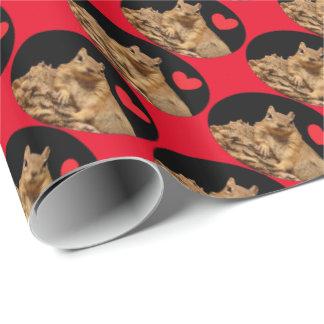 HAMbWG Wrapping Paper - HAMbWG Squirrel heart