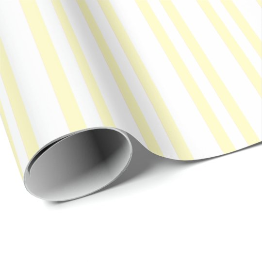 HAMbWG - Wrapping Paper - Pale Yellow Stripes