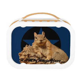 HAMbWG - Yubo Lunchbox - HAMbWG Squirrel