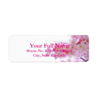 HAMbyWG - Address Labels - Cherry Tree