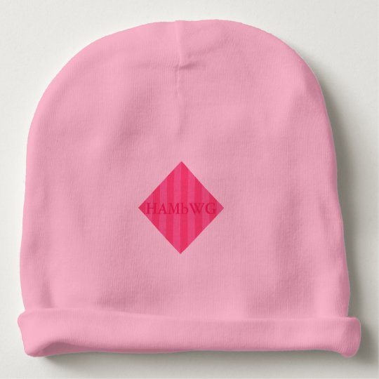HAMbyWG - Baby Beanie - Pink Stripe