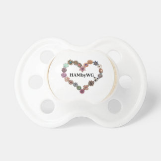 HAMbyWG Baby  Pacifier - Jeweled Heart