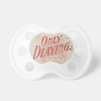 HAMbyWG - BooginHead® Pacifier -  Only Playing