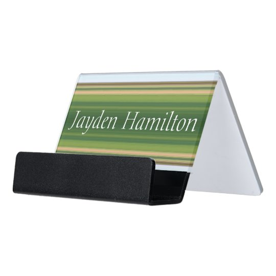 HAMbyWG Business Card Holder - Green Gradients