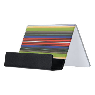 HAMbyWG Business Card Holder  Red White Blue Green