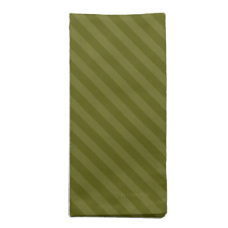 HAMbyWG - Cloth Napkins (4) -Two Tone Small Stripe