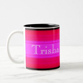 HAMbyWG - Coffee Mug - Hot Pinks & Black