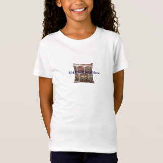 HAMbyWG Crazy Masks - Girls' Fitted Babydoll T T-Shirt