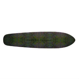 HAMbyWG Designed - Skateboard - Lizard Skin Look