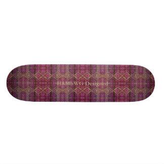 HAMbyWG Designed - Skateboard - Magenta Boho