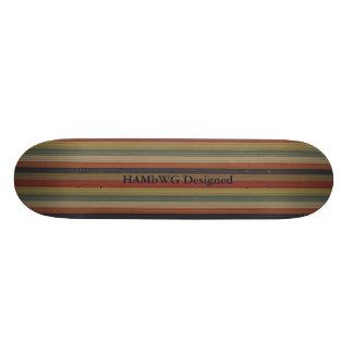 HAMbyWG Dsgn - Skateboard - Native American Colors