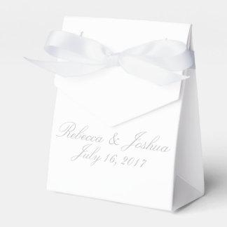 HAMbyWG - Favor Box w/Ribbon & Personalized