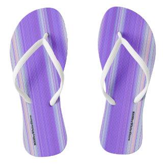 HAMbyWG - Flip-Flops  Light Purple White Flip Flops