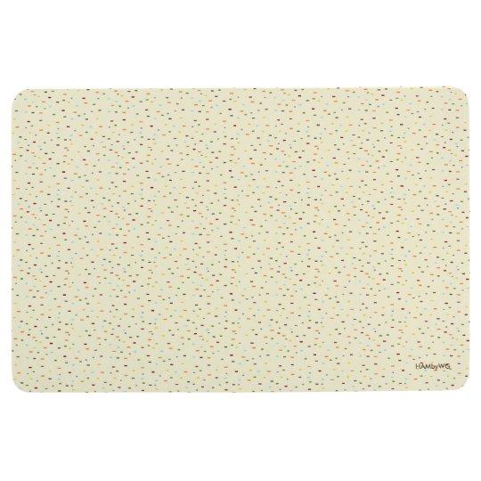 HAMbyWG - Floor Mat - Multi Coloured Speckles
