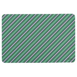 HAMbyWG - Floor Mat - Navy White Lime ++