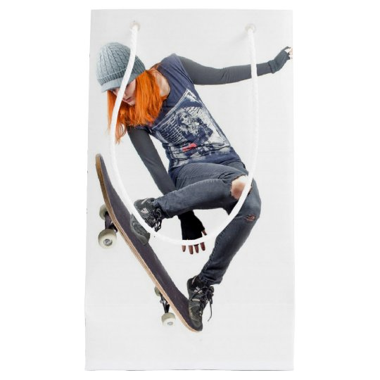 HAMbyWG Gift Bag - Girl Skateboarder