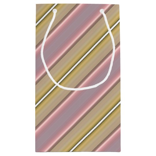 HAMbyWG Gift Bag - Light Pink & Yellow Stripe
