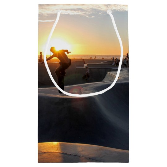 HAMbyWG Gift Bag - Skateboarder in Sunset