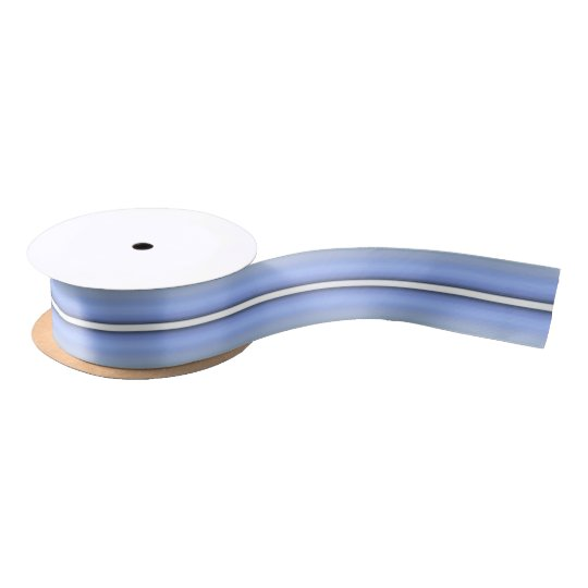 HAMbyWG - Gift Ribbon - Light Blue Mint Stripe Satin Ribbon