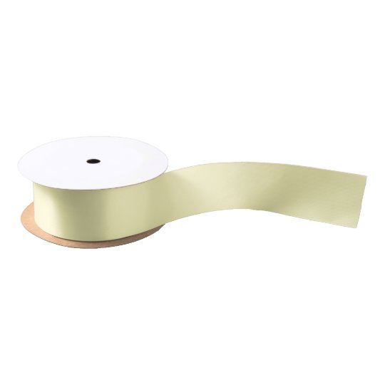 HAMbyWG - Gift Ribbon - Pale Yellow Satin Ribbon
