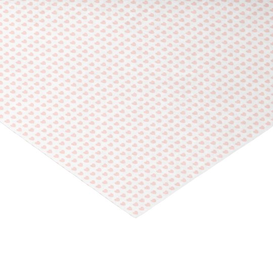 HAMbyWG - Gift Ribbon - Peachy Pink Hearts Tissue Paper