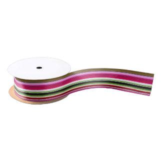 HAMbyWG - Gift Ribbon - Santa Claus Match Satin Ribbon