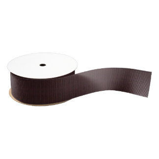 HAMbyWG - Gift Ribbon - Violet Brown Mix Grosgrain Ribbon