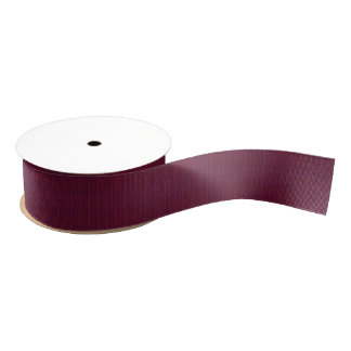 HAMbyWG - Gift Ribbon - Violet Cherry Mix Grosgrain Ribbon