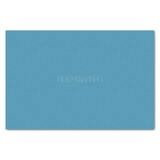 HAMbyWG - Gift Tissue - Aquamarine Tissue Paper