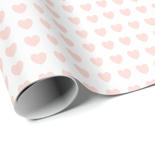 HAMbyWG - Gift Wrap - Tiny Peachy Pink Hearts