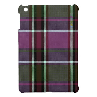 HAMbyWG   Glossy Hard Case - Plaid w Cherry iPad Mini Cover