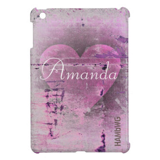 HAMbyWG -Hard Case - Distressed Heart iPad Mini Cases