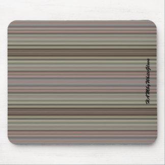 HAMbyWG - Mouse Pad - Mauve Stripes