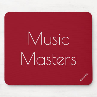 HAMbyWG - Mouse Pad - Music Masters