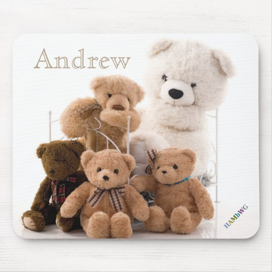 HAMbyWG - Mouse Pad - Teddy Bears