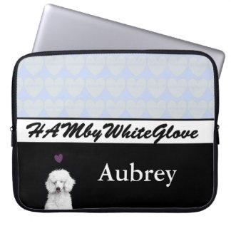 HAMbyWG - Neoprene Laptop Sleeve - Hearts & Lovey
