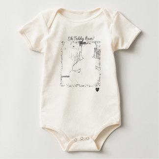 HAMbyWG - Organic Baby T - Oh Teddy Bear! Baby Bodysuit