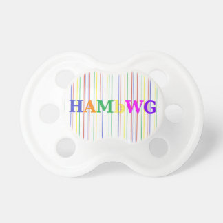 HAMbyWG - Pacifier - Primary Colors