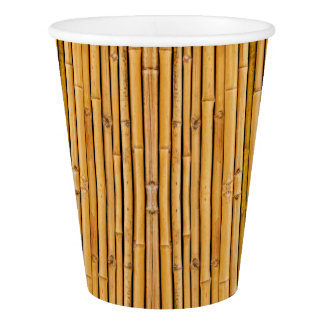 HAMbyWG - Paper Cup, 9 oz - Bamboo Image Paper Cup