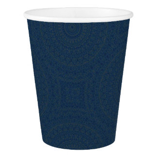 HAMbyWG - Paper Cup, 9 oz - Bohemian Indigo Paper Cup