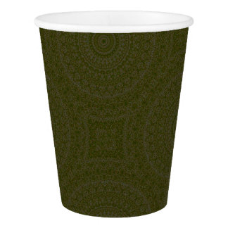 HAMbyWG - Paper Cup, 9 oz - Bohemian Moss Paper Cup