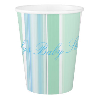 HAMbyWG - Paper Cup -  Blue & Purple Stripes